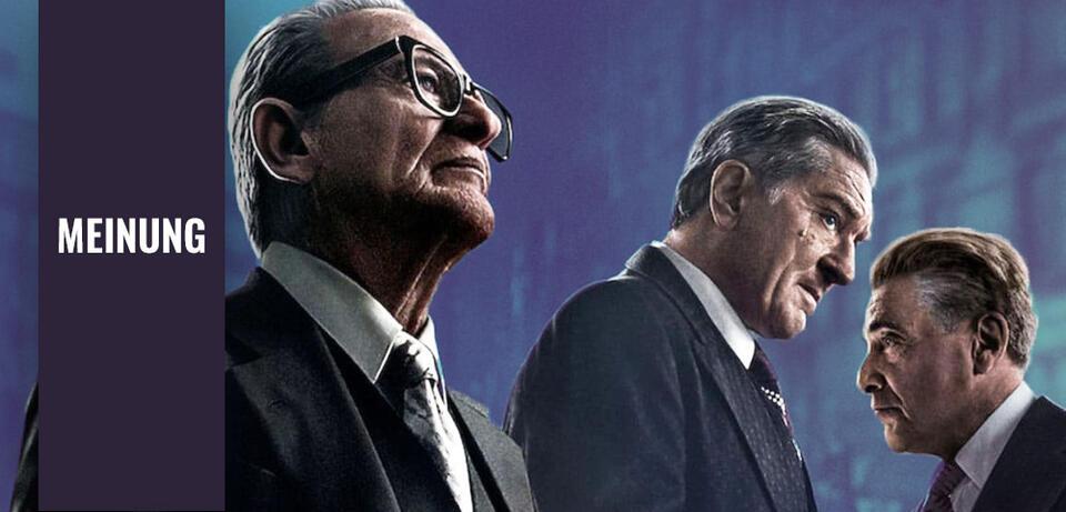 Joe Pesci, Robert De Niro und Al Pacino in The Irishman