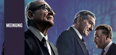 Joe Pesci, Robert De Niro und Al Pacino in The Irishman
