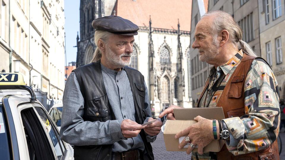Tatort: Spieglein, Spieglein mit Wolfgang Packhäuser und Claus D. Clausnitzer