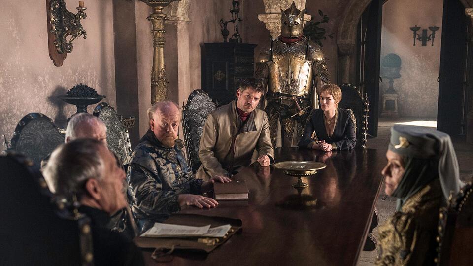Game of Thrones - Staffel 6 mit Lena Headey, Nikolaj Coster-Waldau, Diana Rigg, Julian Glover, Hafþór Júlíus Björnsson, Roger Ashton-Griffiths und Ian Gelder