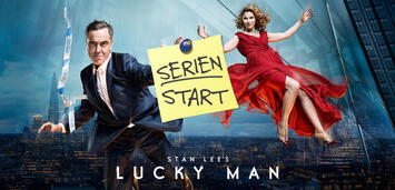 Bild zu:  Stan Lee's Lucky Man startet heute auf Sky 1