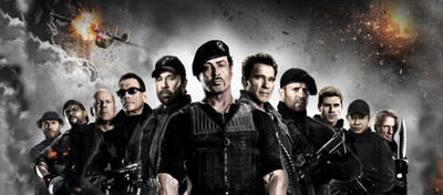 Die Geronto-Gang aus The Expendables 2