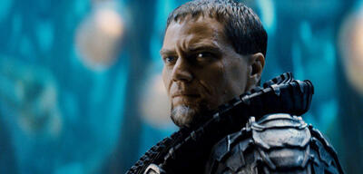 Michael Shannon in Man of Steel
