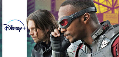Sebastian Stan und Anthony Mackie als Winter Soldier und Falcon