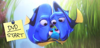 Findet Nemo-Fortsetzung Findet Dorie jetzt auf DVD und Blu-ray