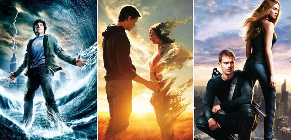 (Noch) unbeendete Jugend-Franchises: Percy Jackson, The Darkest Minds , Divergent