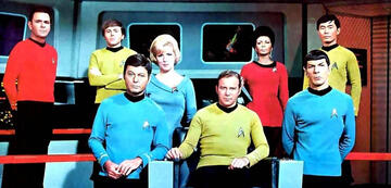 Die Crew der Enterprise ab Staffel 2