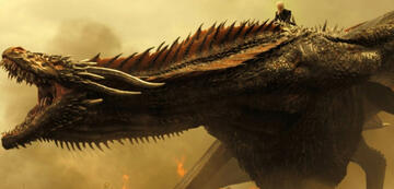 Game of Thrones: Drache Drogon in Staffel 7