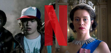Bild zu:  Stranger Things und The Crown