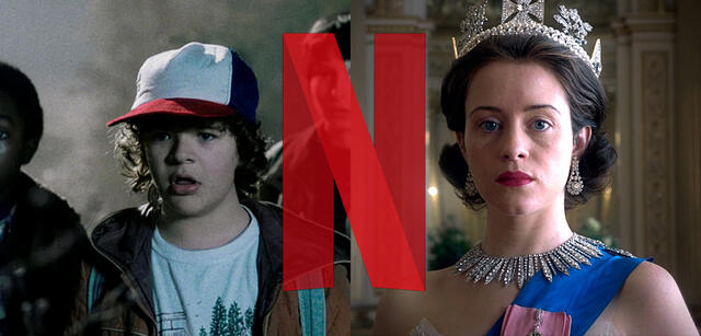 Stranger Things und The Crown