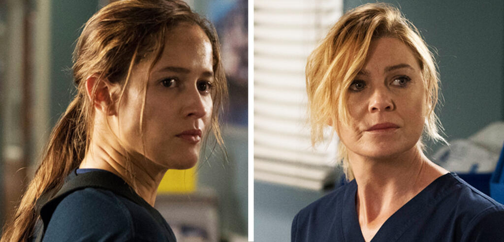 Grey's Anatomy-Spin-off:Jaina Lee Ortiz und Ellen Pompeo