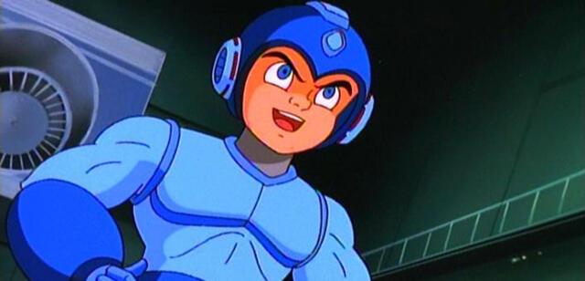 Mega Man in der 90er Jahre-Fernsehserie