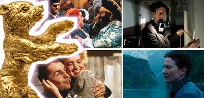 Im Uhrzeigersinn: Die Piratenkönigin, Elser, An American Romance, Sworn Virgin