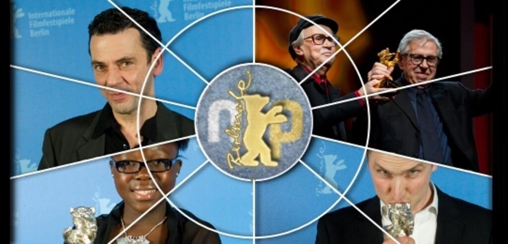 Glückliche Bären-Gewinner bei der Berlinale 2012