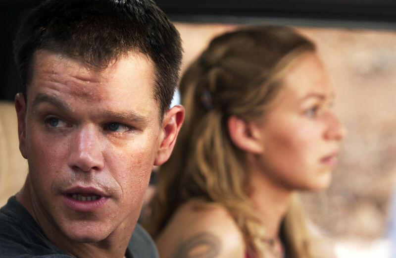 Die Bourne Verschwörung mit Matt Damon und Franka Potente