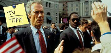 Bild zu:  Clint Eastwood in der Schusslinie von John Malkovich