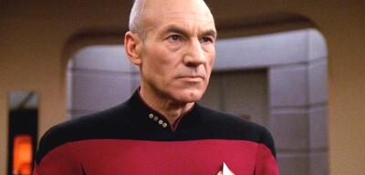 Patrick Stewart als Jean-Luc Picard in Star Trek