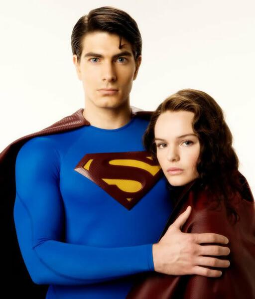 Superman Returns mit Kate Bosworth und Brandon Routh