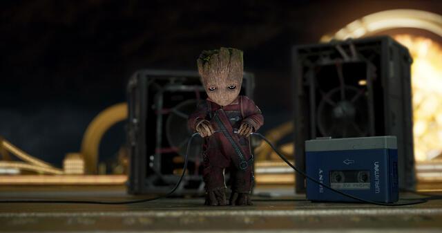 Baby-Groot - Der Liebling unter den Guardians