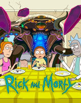 Rick and Morty - Staffel 5 - Poster