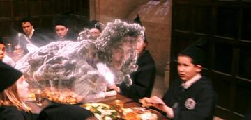 Terence Bayler als der Blutige Baron in Harry Potter