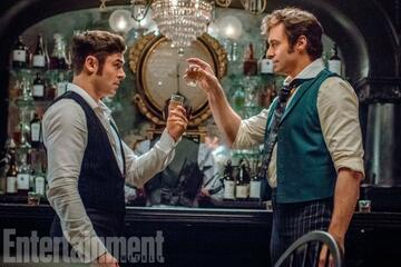 Hugh Jackmann und Zac Efron in The Greatest Showman on Earth