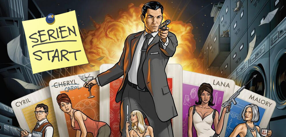 Archer startet in Staffel 7