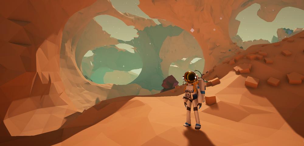 In Astroneer trifft No Man's Sky auf Minecraft