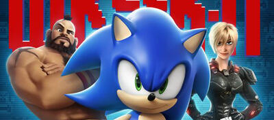 Sonic the Hedgehog in Wreck-It-Ralph