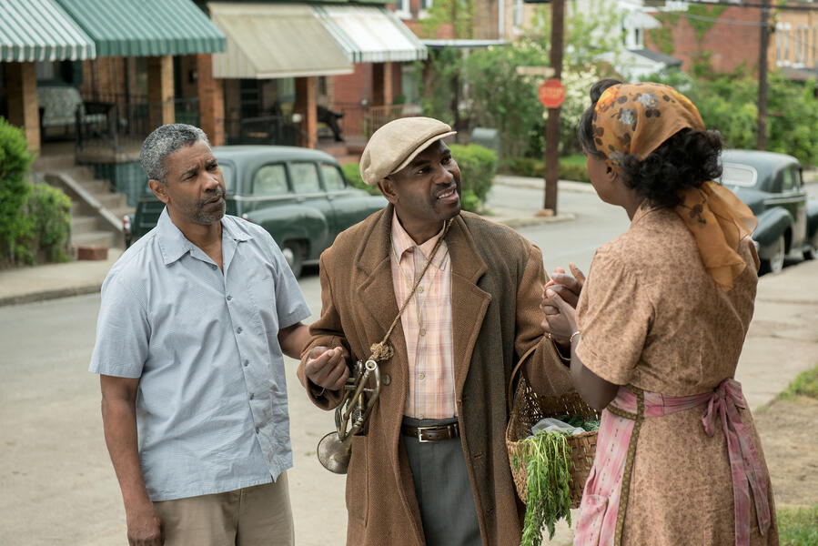 Fences mit Denzel Washington, Viola Davis und Mykelti Williamson