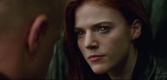 Rose Leslie in The Last Witch Hunter
