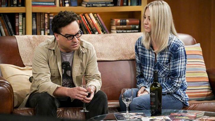 The Big Bang Theory Staffel 11 mit Kaley Cuoco und Johnny Galecki