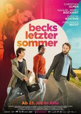 Becks letzter Sommer - Poster