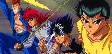 Yusuke und seine Freunde
