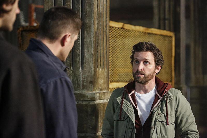 Supernatural mit Jensen Ackles und Rob Benedict