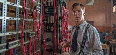 Cumberbatch in The Imitation Game
