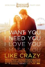Like Crazy - Poster