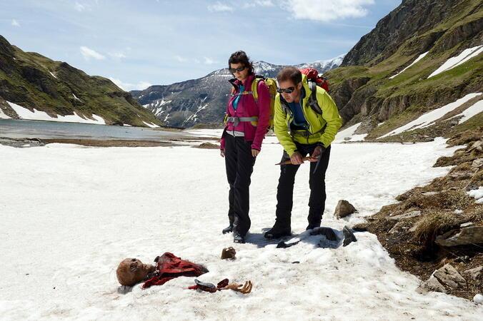 Tod in den Bergen