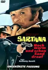 Sartana - noch warm und schon Sand drauf - Poster