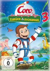 Coco, der neugierige Affe 3 - Zurück in den Dschungel - Poster
