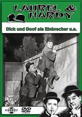 Dick und Doof als Einbrecher