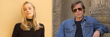 Margot Robbie & Brad Pitt in Once Upon a Time ... in Hollywood