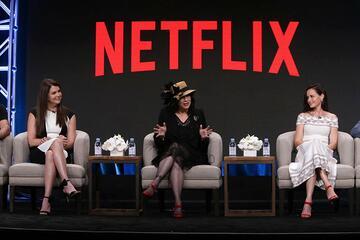 Lauren Graham, Amy Sherman-Palladino und Alexis Bledel