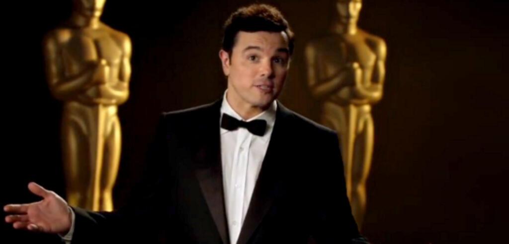 Seth MacFarlane in einer seiner Oscar-Promos