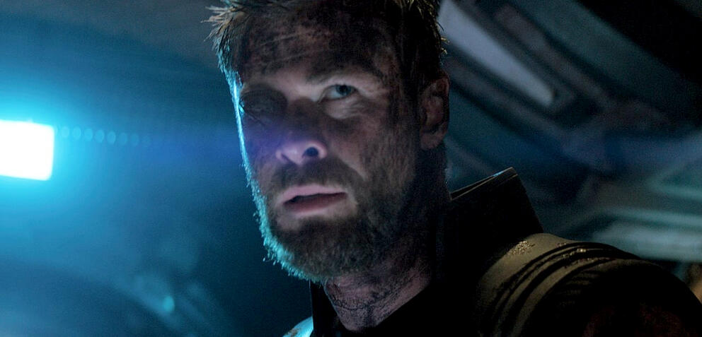 Chris Hemsworth in Avengers 3