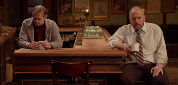 Pete und Horace am Tresen ihrer Bar