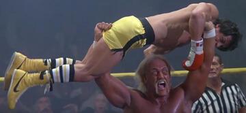 Hulk Hogan in Rocky III mit Sylvester Stallone