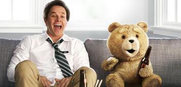 Bild zu:  Mark Wahlberg mit Ted
