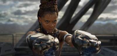 Letitia Wright als Shuri in Black Panther