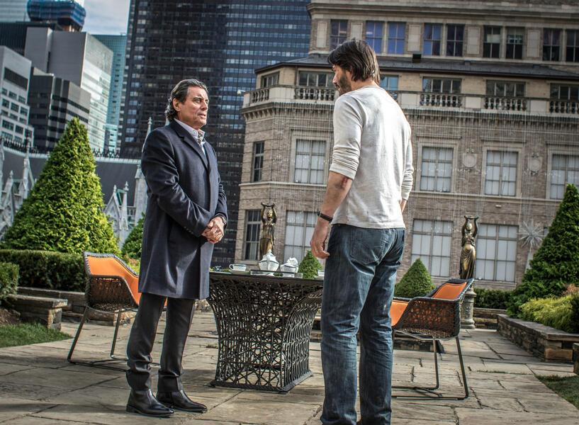 John Wick: Kapitel 2 mit Keanu Reeves und Ian McShane